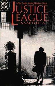 Portada de Justice League America #27.