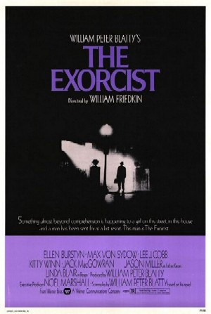 Afiche de The Exorcist.