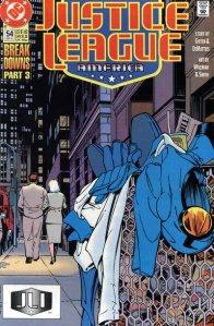 Justice League America #54.