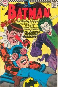 Portada de Batman #186
