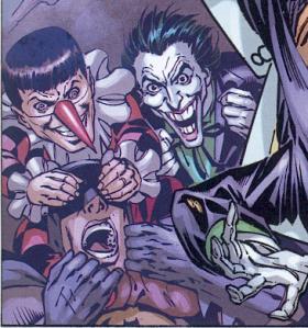 Batman, el Joker y Gaggy