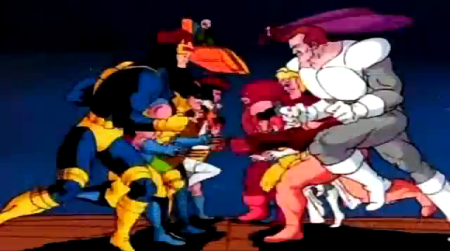 The X-Men versus the Brotherhood of Evil Mutants