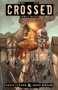 Portada de Crossed: Family Values #2