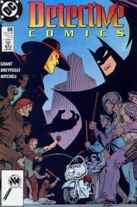 Portada de Detective Comics #609
