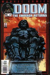 Portada de Doom: The Emperor Returns #3