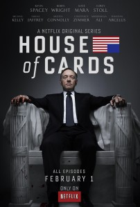 Afiche de House of Cards
