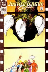 Portada de Justice League Europe #14