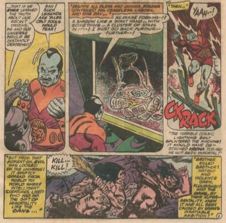 Extracto de Green Lantern #40
