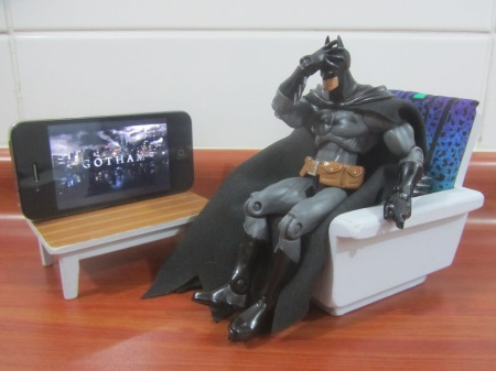 Meanwhile, in Gotham...