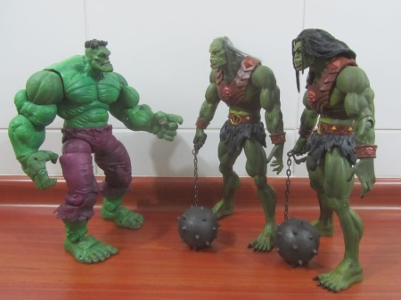 Hulk y Megators